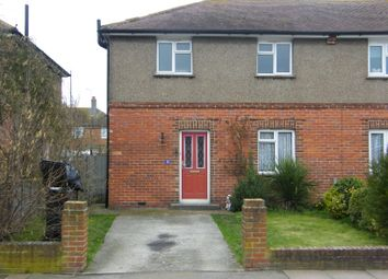 Thumbnail 3 bedroom semi-detached house to rent in Port Road, Hampden Park Eastbourne