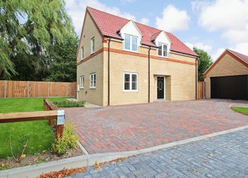 Thumbnail 4 bed detached house for sale in The Lane, Wyboston, Bedford
