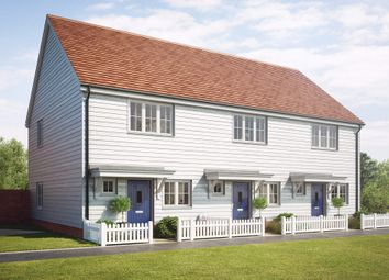 Thumbnail 2 bed end terrace house for sale in Keepers Cottage Lane, Off Hall Road, Wouldham, Kent