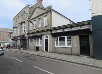 Thumbnail Commercial property for sale in 32-33, Alverton Street, Penzance, Cornwall