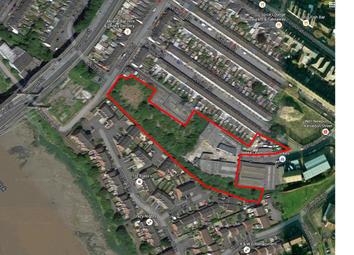 Thumbnail Land for sale in Kelvedon Street, Newport
