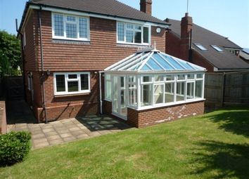 Thumbnail 4 bed detached house to rent in Serpentine Road, Sevenoaks
