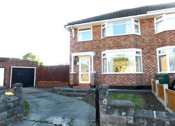 Thumbnail 3 bed semi-detached house for sale in Norbury Close, Bebington