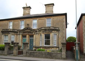 Thumbnail 4 bed semi-detached house for sale in Marshfield Road, Chippenham