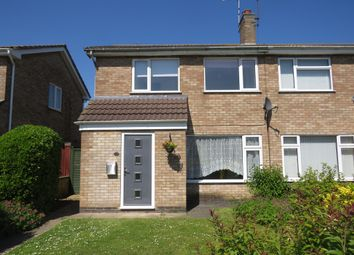 Thumbnail 3 bed semi-detached house for sale in Melrose Close, Stamford