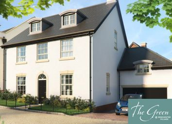 "Thumbnail 6 bed detached house for sale in ""The Elliot @ The Green"" at Pitt Road, Winchester"