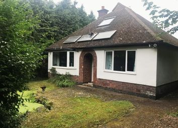 Thumbnail 3 bed bungalow for sale in Leicester Road, Markfield, Leicestershire, England
