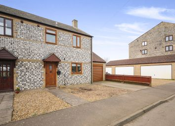 Thumbnail 3 bed semi-detached house for sale in Mill Corner, Soham, Ely