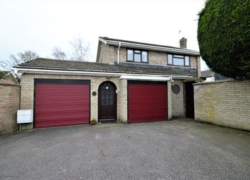 Thumbnail 4 bed detached house for sale in Lucerne Close, Norwich