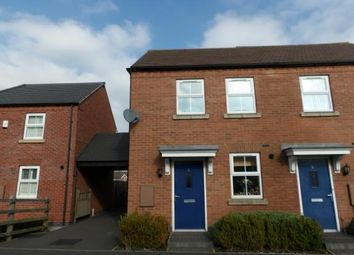 Thumbnail 2 bed semi-detached house for sale in Headstock Close, Coalville
