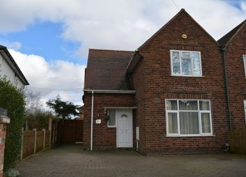 Thumbnail 3 bedroom semi-detached house to rent in Swingate, Kimberley, Nottingham