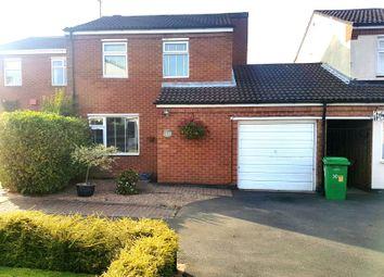 Thumbnail 3 bed semi-detached house for sale in Garrett Grove, Clifton, Nottingham