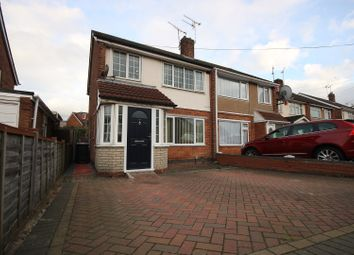 Thumbnail 3 bed semi-detached house for sale in Yewdale Crescent, Coventry