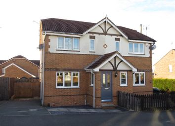 Thumbnail 3 bed semi-detached house for sale in Fairfax Avenue, Worksop