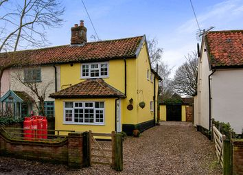 Thumbnail 3 bedroom semi-detached house for sale in East Church Street, Kenninghall, Norwich