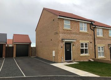 Thumbnail 3 bedroom semi-detached house to rent in Mercers Way, Alnwick, Northumberland