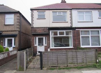 Thumbnail 3 bedroom terraced house to rent in Wall Street, Grimsby