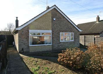 Thumbnail 3 bed detached bungalow for sale in Ennerdale Rise, Gunthorpe, Cambridgeshire