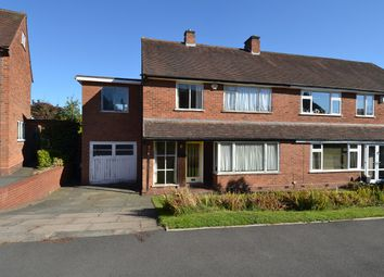 Thumbnail 4 bed semi-detached house for sale in Mimosa Close, Bournville Village Trust, Birmingham