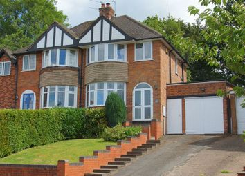 Thumbnail 3 bed semi-detached house for sale in Clent Avenue, Headless Cross, Redditch