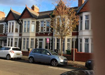 Thumbnail 6 bed property to rent in Newfoundland Road, Gabalfa, Cardiff
