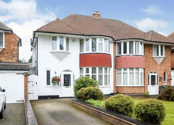 Thumbnail 3 bed semi-detached house for sale in Rowlands Road, Birmingham, West Midlands