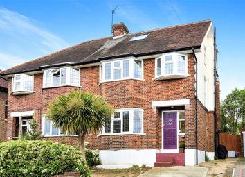 Thumbnail 5 bed semi-detached house for sale in Raeburn Avenue, Berrylands, Surbiton, Surrey