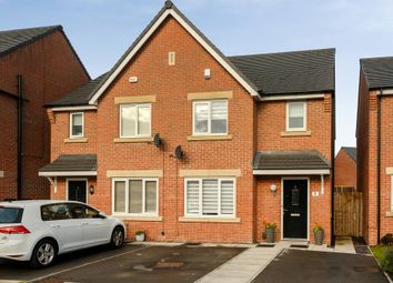 Thumbnail 3 bed semi-detached house for sale in Olive Yeates Way, Leeds, West Yorkshire
