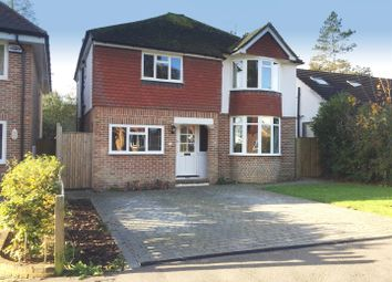 Thumbnail 4 bed detached house for sale in Hardwick Road, Hildenborough, Tonbridge