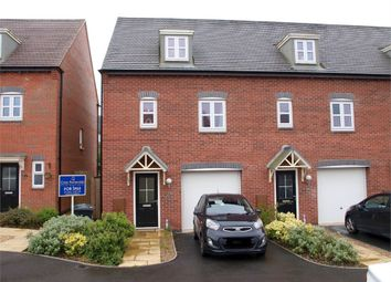 Thumbnail 3 bed end terrace house for sale in Lewisham Drive, Church Gresley, Swadlincote, Derbyshire