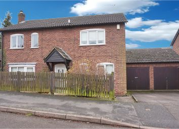 Thumbnail 4 bed detached house for sale in Underwood Drive, Stoney Stanton
