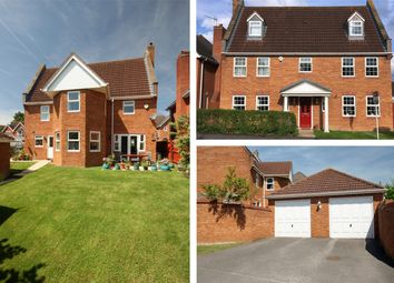 Thumbnail 5 bed detached house for sale in Horseshoe Way, Hempsted Grange, Hempsted, Gloucester