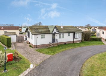 Thumbnail 2 bedroom mobile/park home for sale in Millview Close, Nyetimber, Bognor Regis, West Sussex.