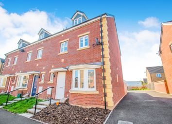 Thumbnail 4 bed town house for sale in Meadowland Close, Caerphilly