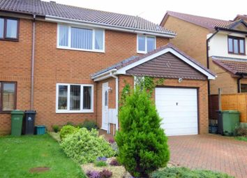 Thumbnail 3 bed end terrace house for sale in Freesia Close, Weymouth
