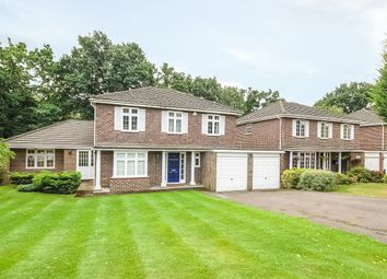 Thumbnail 5 bed detached house to rent in Corrie Gardens, Virginia Water