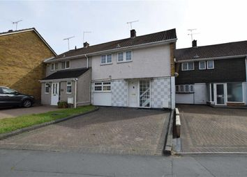 Thumbnail 3 bed terraced house to rent in Long Riding, Basildon, Essex