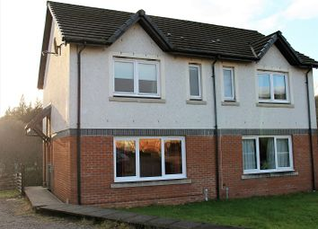 Thumbnail 2 bedroom semi-detached house for sale in Meadows Road, Lochgilphead