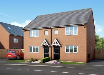 "Thumbnail 3 bed property for sale in ""The Hexham At Kingswood"" at Spring Close, Kinsley, Pontefract"