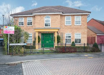 Thumbnail 4 bed detached house for sale in Whimbrel Close, Rugby
