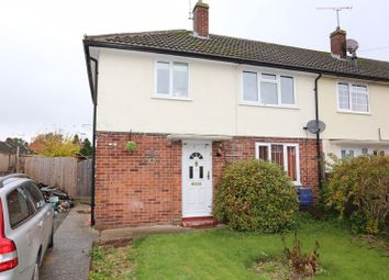 Thumbnail 3 bedroom terraced house for sale in Normoor Road, Burghfield Common, Reading
