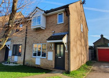 3 bed end terrace house for sale in Alder Close, Eaton Ford, St. Neots PE19