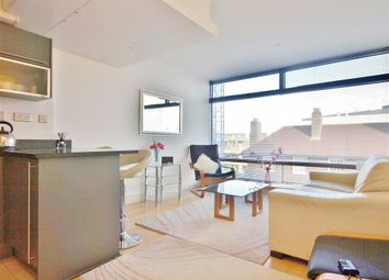 Thumbnail 1 bed flat to rent in Parliament View Apartments, South Bank, London