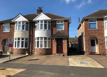Thumbnail Semi-detached house for sale in Pinecroft Road, Ipswich