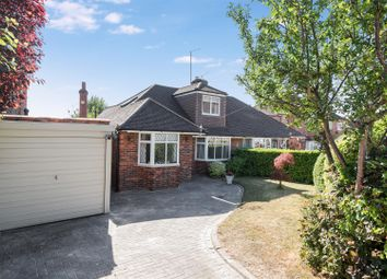 Thumbnail 3 bed semi-detached bungalow for sale in Newton Wood Road, Ashtead