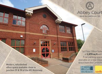 Thumbnail Office to let in 8 Abbey Court, Eagle Way, Exeter