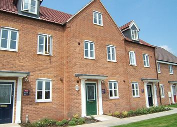 Thumbnail 3 bed town house for sale in Spinners Close, Mansfield