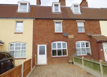 Thumbnail 3 bed terraced house for sale in Seamans Cottages, Sidegate Road, Hopton, Great Yarmouth