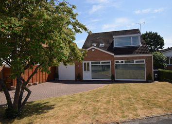 Thumbnail 4 bed detached house for sale in Woodrow Crescent, Knowle, Solihull