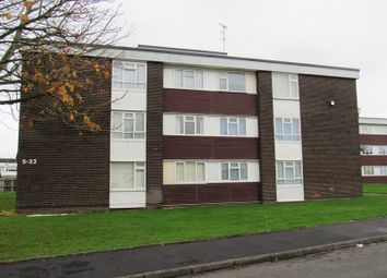 Thumbnail 2 bed flat for sale in Redfern Close, Solihull